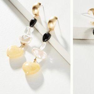 Emmeline Huggie Hoop earrings NWT